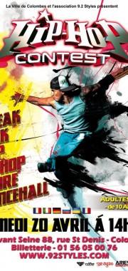 Affiche hip hop  contest 2014